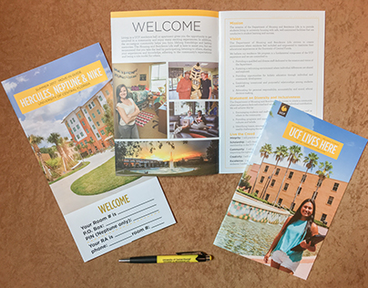New Look for UCF Housing Move-in materials