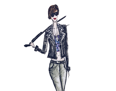 Domino Harvey, a Rock'n'roll Fashion Icon!