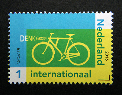 Post Stamp Think Green