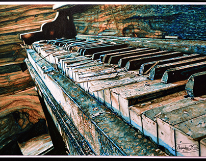 Pintura - El deterioro musical a través del tiempo