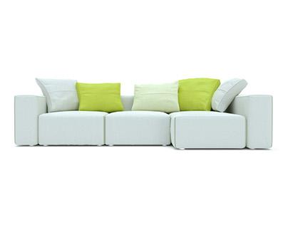 Moroso field sofa