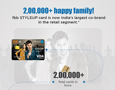 fbb STYLEUP Card journey