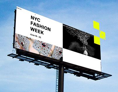 NYC Fashion Week Branding