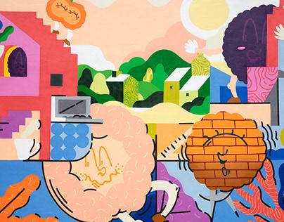 Murals for Newton Kids