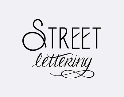 STREET LETTERING