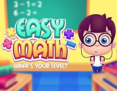 Game Art - Easy Math