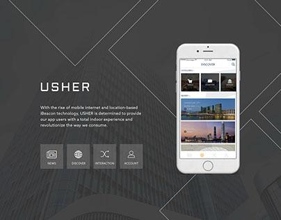 Usher - Indoor Mobile Application