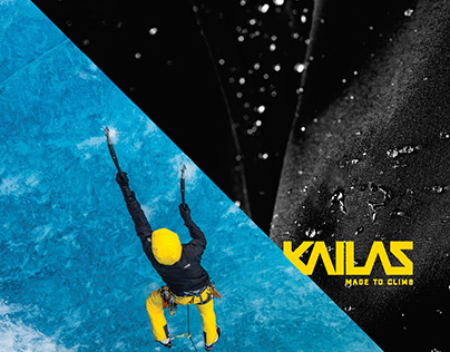 KAILAS, chinese outdoor company. Brandidentity project