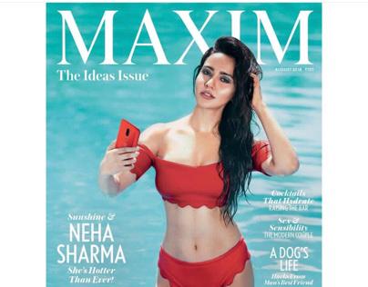 Maxim August Cover 2018