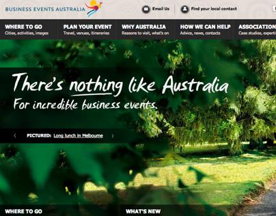 Tourism Australia Business Events