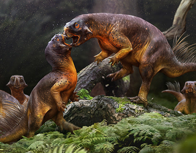 Paleo Illustrations 2020 - Dinosaurs and Prehistory