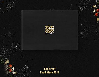 Menu Design For Saj Alreef
