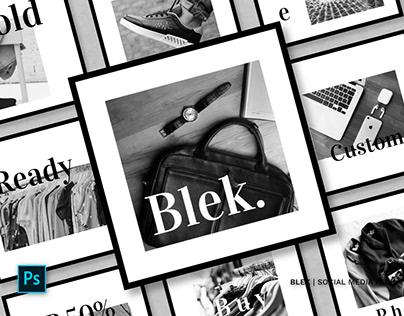 Blek Social Media Pack