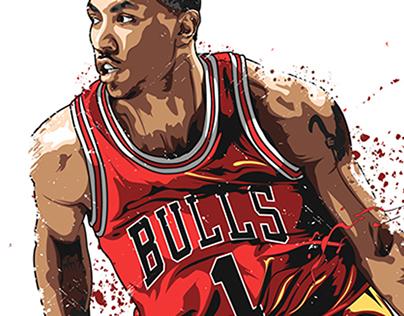 NBA Illustrations 2nd set