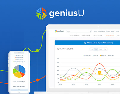 «GeniusU». Dashboards