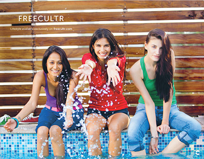 Freecultr GQ & Vogue Print Ads