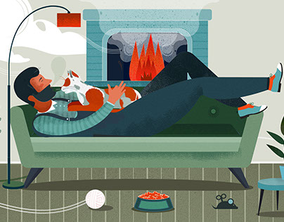 Illustration for book The Spirit Bunnies