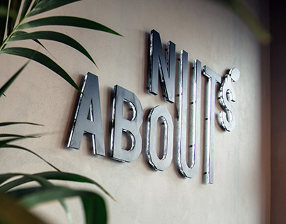 NUTS ABOUT. Logo & Brand Identity