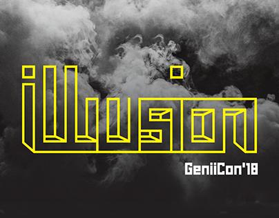 Illusion Magician Convention Branding