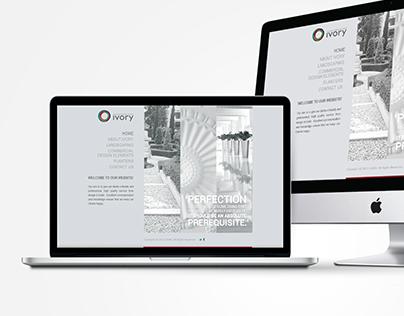 Ivory Website Design
