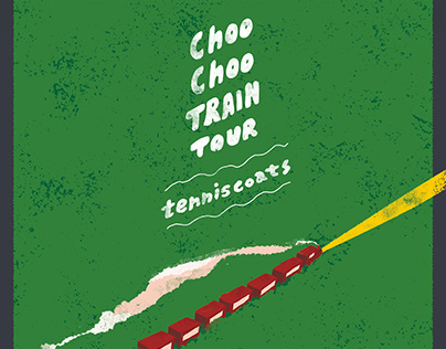 tenniscoats | Choo Choo TRAIN TOUR