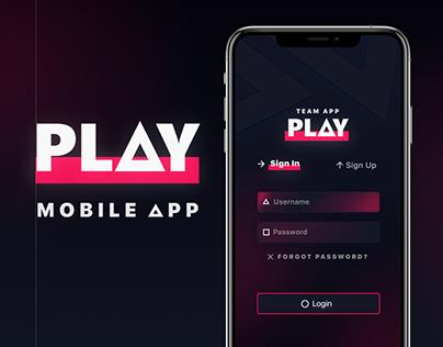 PLAY APP | GAMERS PLATFORM