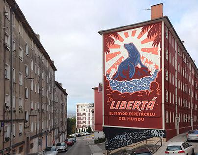 """""""Libertá"""" Wall (Santander, Cantabria)"""