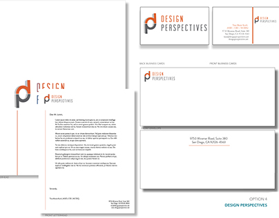 Design Perspectives Stationary & Business Cards
