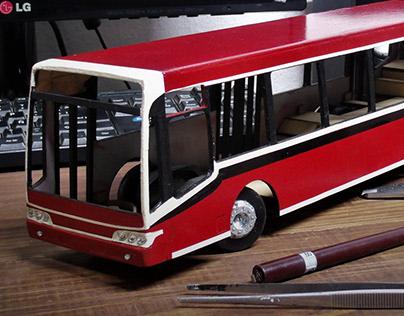model bus in progress