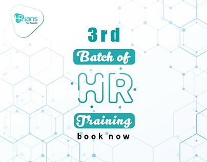 3rd batch of HR Training