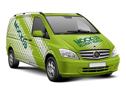 Delivery Vehicle Mockup
