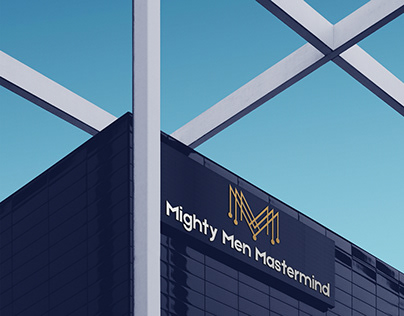 Mighty Men Mastermind Logo Design By Designrar