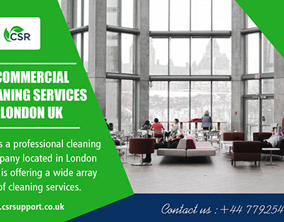 Commercial Cleaning Services London UK