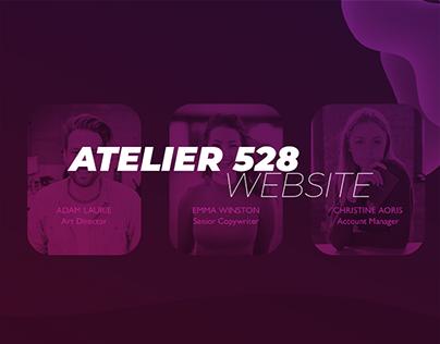 Atelier 528 | Website