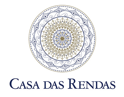 Casa das Rendas | Tracing and logotype design