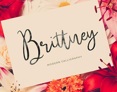 Brittney Free Font