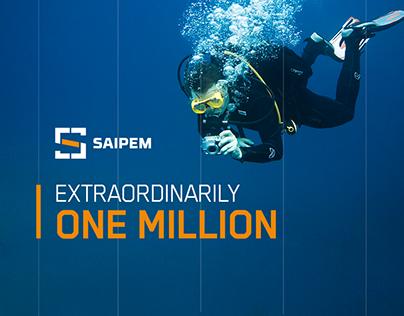 Saipem   Extraordinarily 1 Million Followers