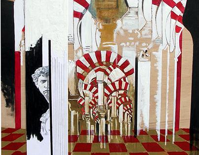 Los arcos de la mezquita de Córdoba