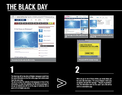 Michel Leen : The black day