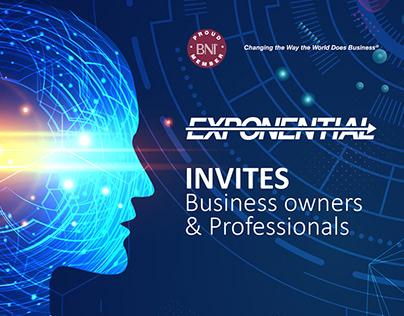 Visitor's E-Invites for a Business Community