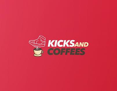 kicks and coffees - visual identity
