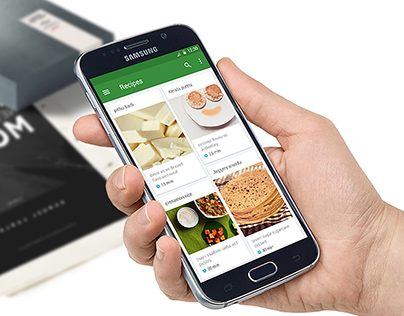 Platterly - A Healthier Food experience, for Samsung