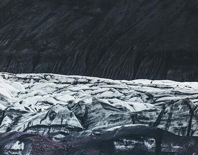 Iceland / Glacier.