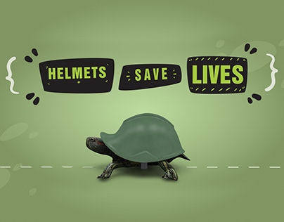 HELMETS SAVE LIVES ANIMATION