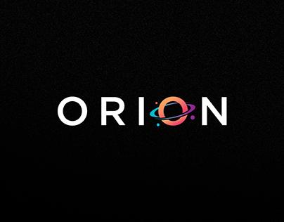 Orion | Desenvolvimento de Logotipo e arte de Facebook