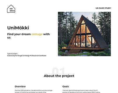 UniMökki - Website to find a cottage | (Updating)