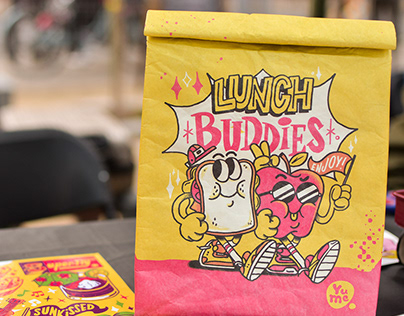 Lunchbag collaboration with YuMe