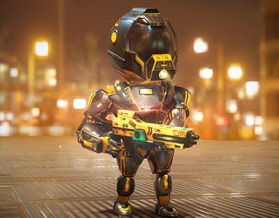 Sci fi Assaulter