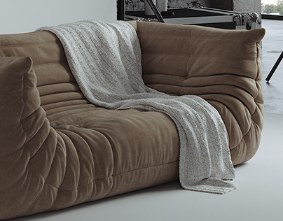 Togo Sofa (modeling & visualization)