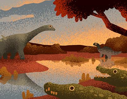 Ecosystems postcards